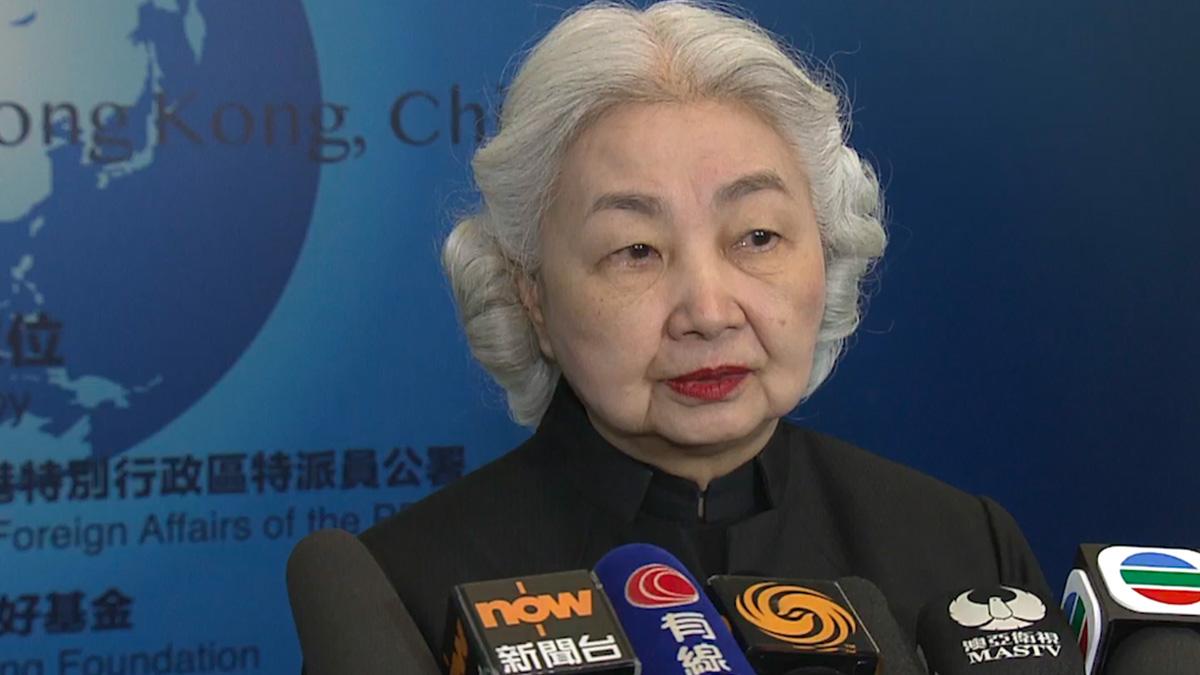 梁愛詩斥大律師公會基於政治理由發表聲明