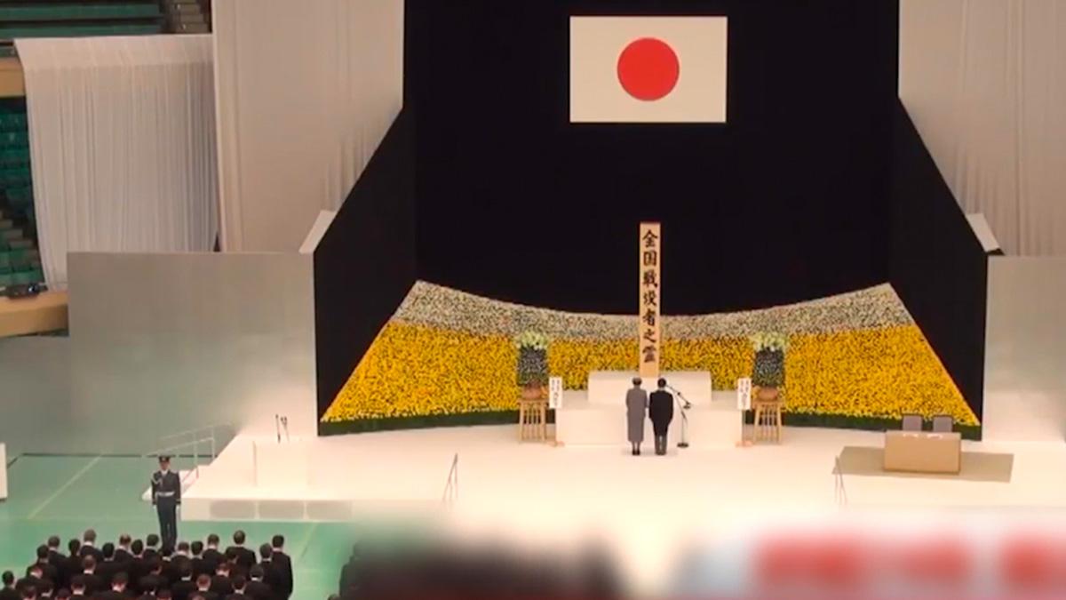 日本縮小戰敗投降日活動規模