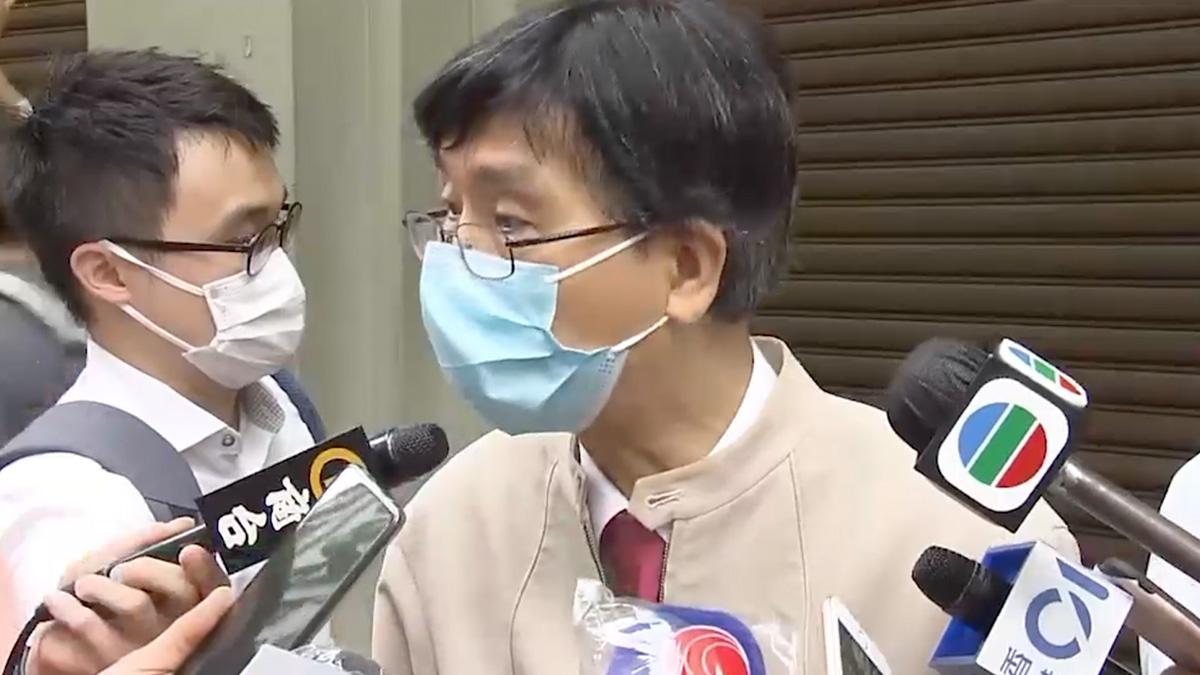袁國勇:空氣傳播、食魚或水產而感染病毒的機會很低
