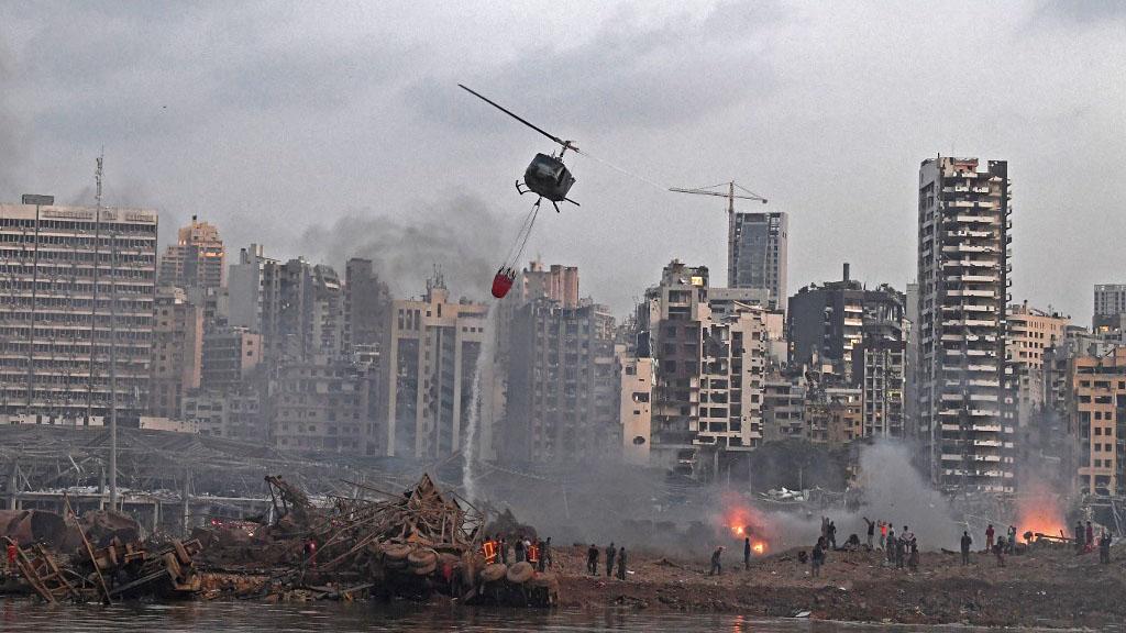 貝魯特大爆炸全國哀悼三天 內閣同意軟禁負責監督出事倉庫官員