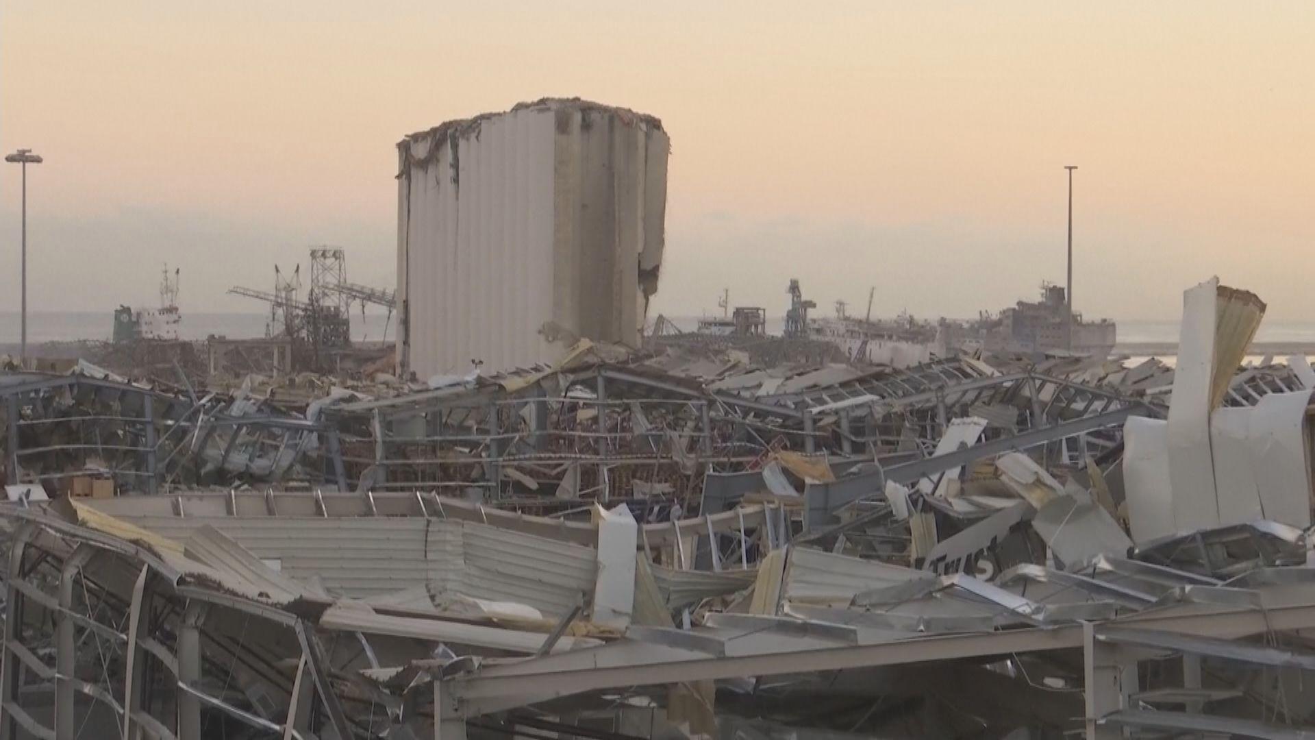 黎巴嫩大爆炸 主糧倉受波及穀物儲備無法維持一個月
