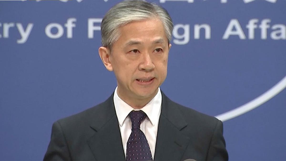外交部重申反對美台官方往來 敦促美方恪守一中原則