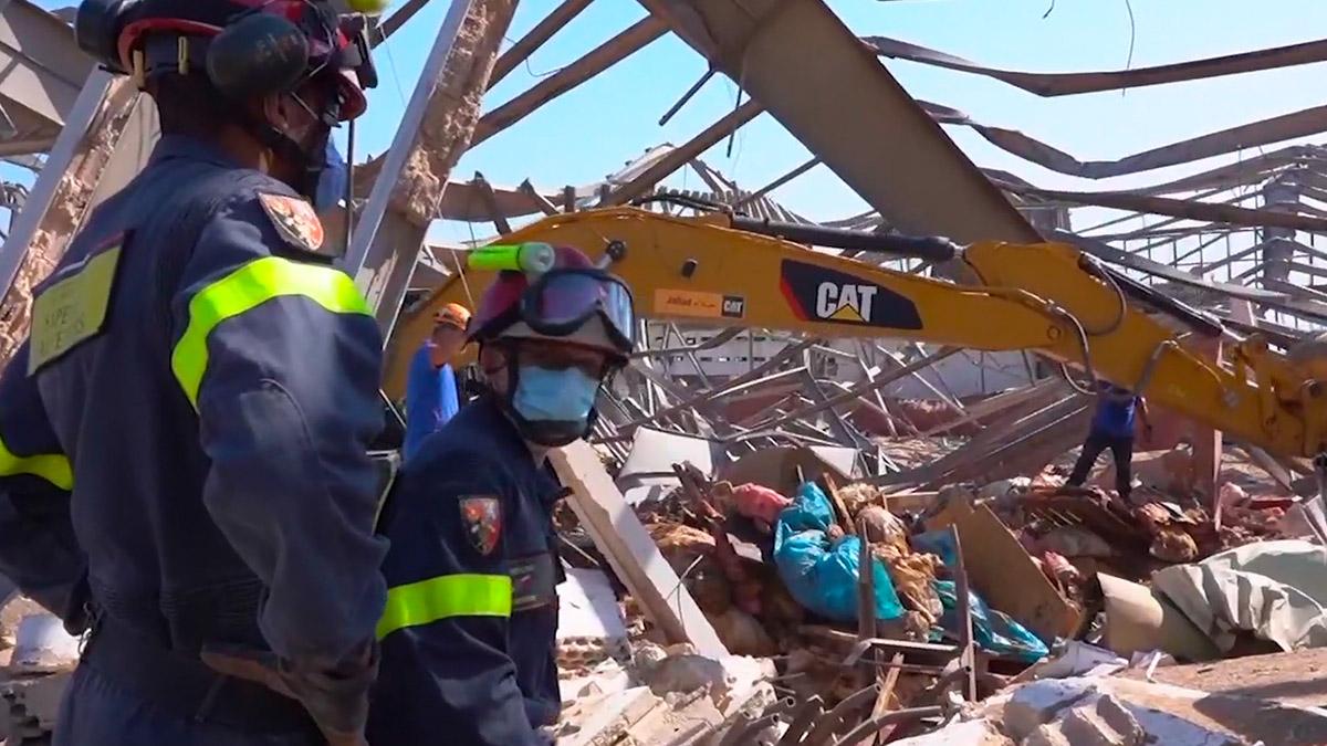 黎巴嫩總統:不排除大爆炸牽涉外部介入