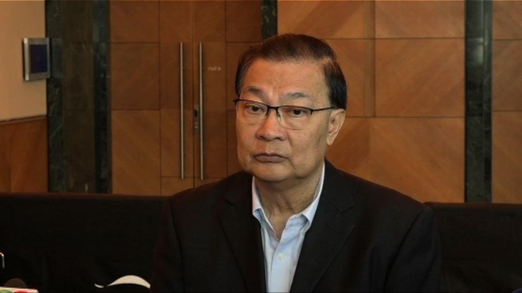 譚耀宗不願透露具體方案 料下周二表決後公布