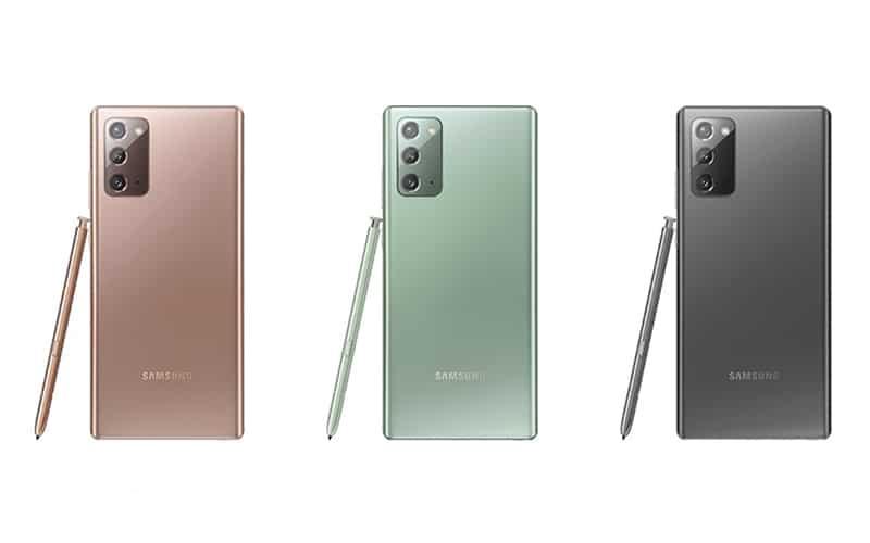 齊色款、8/28 開售!Galaxy Note 20 港版賣呢個價