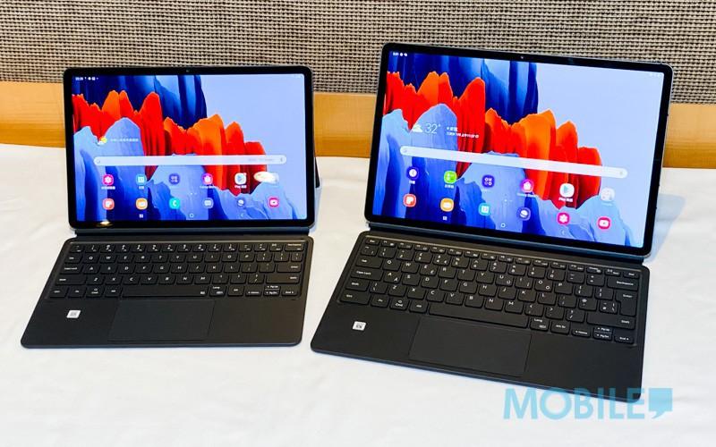電腦文書、筆控繪圖更全面!8/21 開售 Tab S7、S7+ 賣 $4,988 起