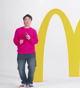 港版木村拓哉?陳奕迅拍麥當勞廣告與日劇男神疑撞衫