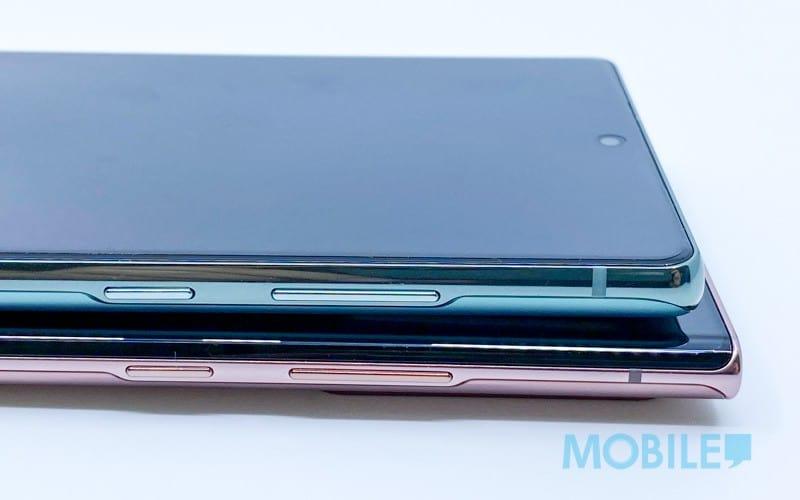 全新霧光銅、霧光綠色系!Galaxy Note 20、Note 20 Ultra 實機拍住睇
