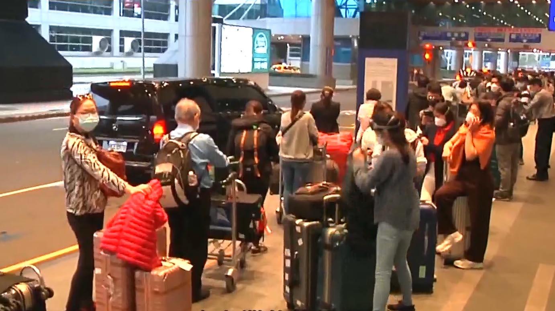 再有離開台灣抵達外地旅客確診