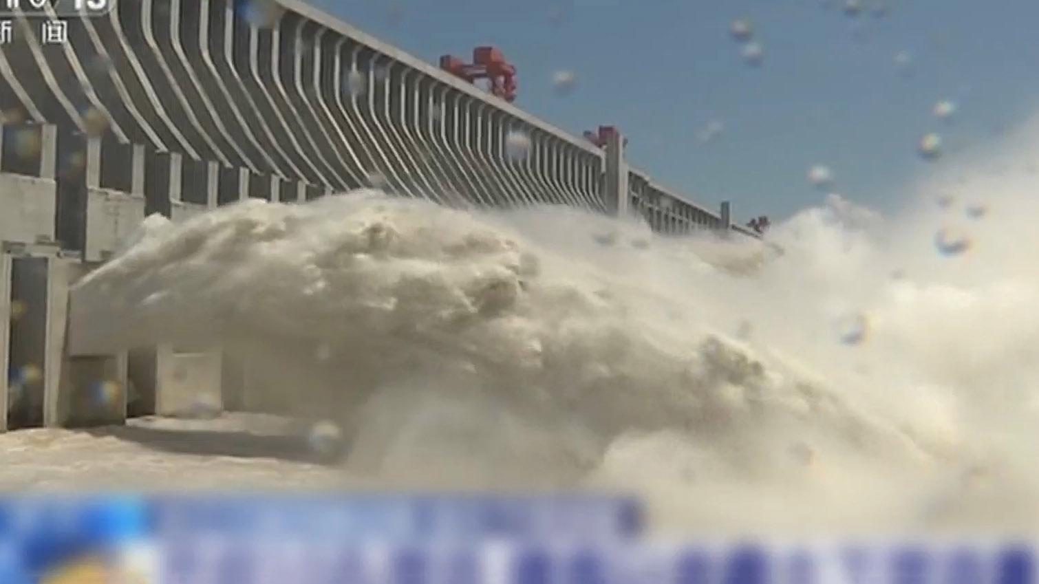 三峽水庫料周四將現建成後最大入庫洪峰