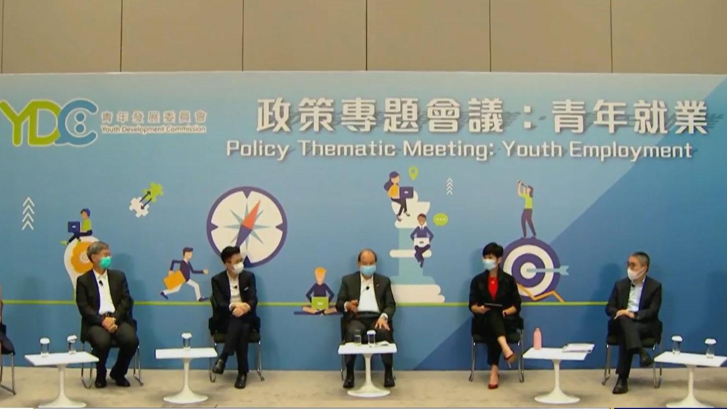 羅致光:青年就業情況比外國好