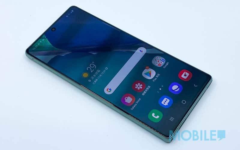 經典平面螢幕視野,試港版 Galaxy Note 20 畫面、效能、攝影