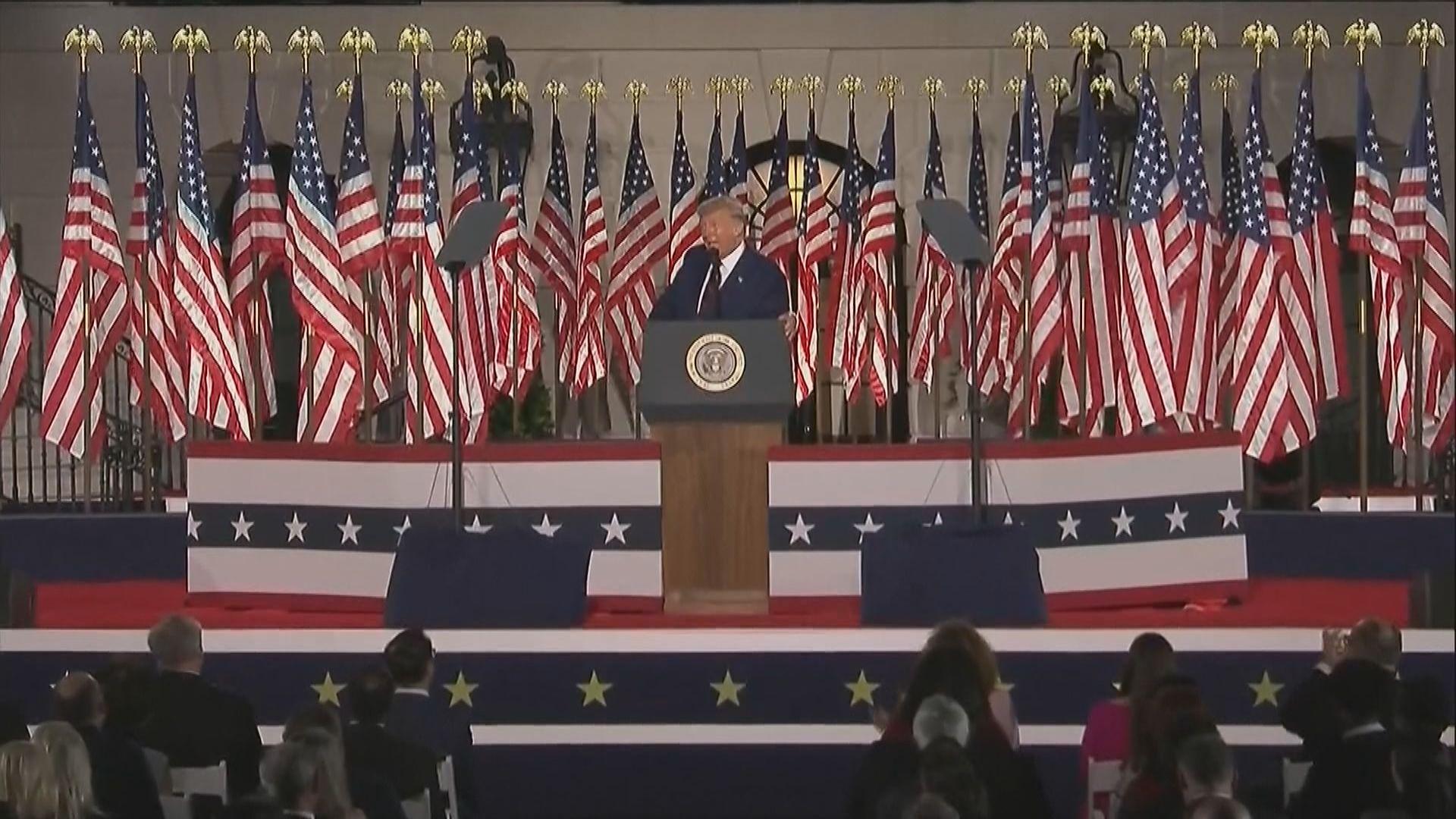 特朗普:如讓拜登入主白宮 等同讓中國擁有美國