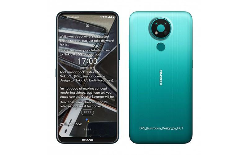 再來平價機款 ? Nokia 3.4 用開孔屏又有三鏡