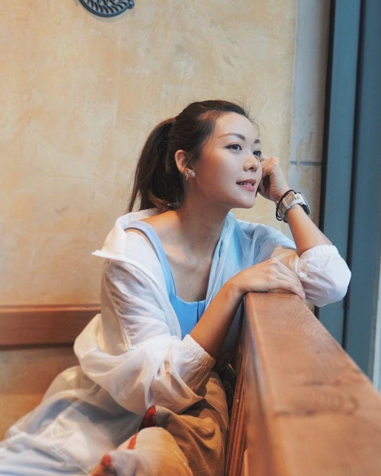 【甜蜜蜜】洪永城罕有拍拖放閃   長腿女友梁諾妍帶妝跑步