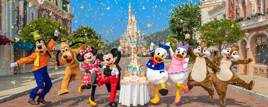 香港迪士尼樂園15周年 推出寶石藍特別版環保袋套裝