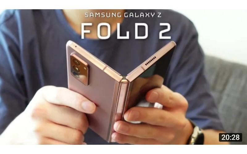 【正式登場?】Samsung Galaxy Z Fold 2 全方向評測!120Hz 螢幕、平板介面模式、5鏡頭相機實拍!