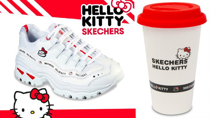 卡哇伊~SKECHERS x HELLO KITTY推出甜美秋冬鞋款