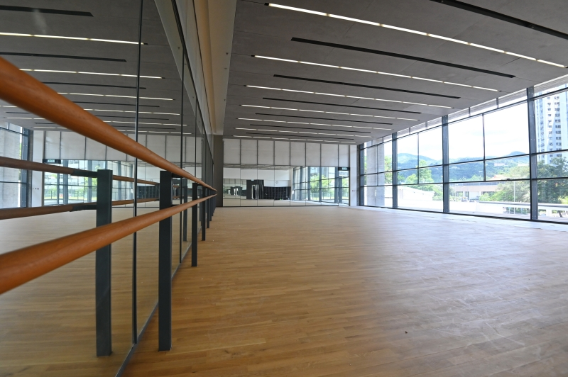 【可望山景】落地玻璃超大空間感 車公廟體育館明開放