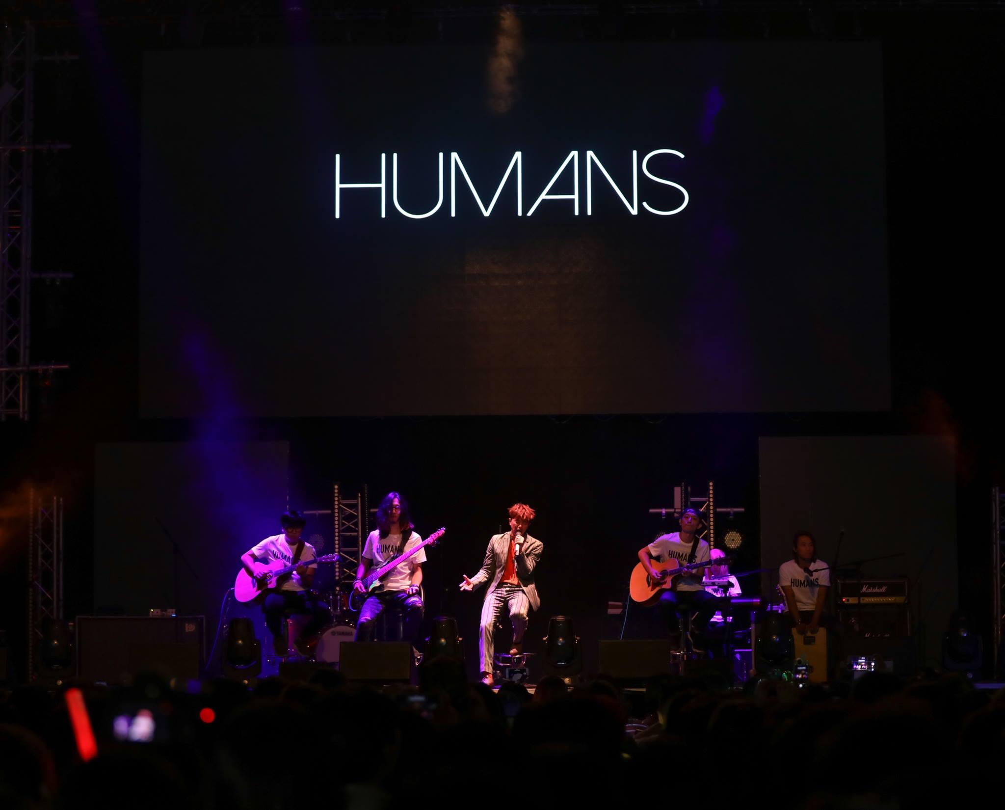 小鬼2018年於香港麥花臣場館舉行《HUMANS》演唱會