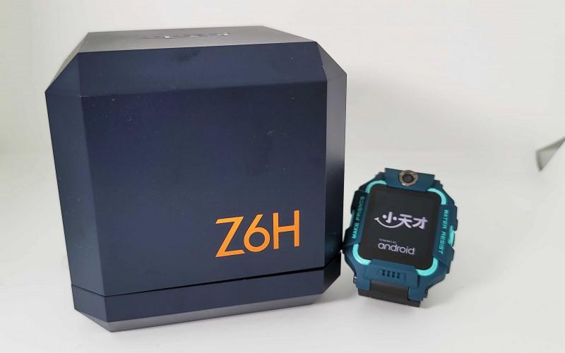 搭載前後鏡頭的兒童智能手錶,小天才 Z6H 實試!