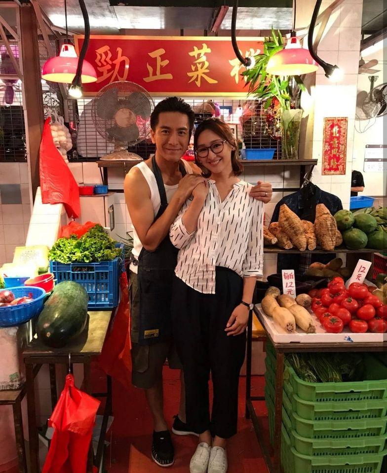 馬明與高Ling劇中飾演兩夫妻