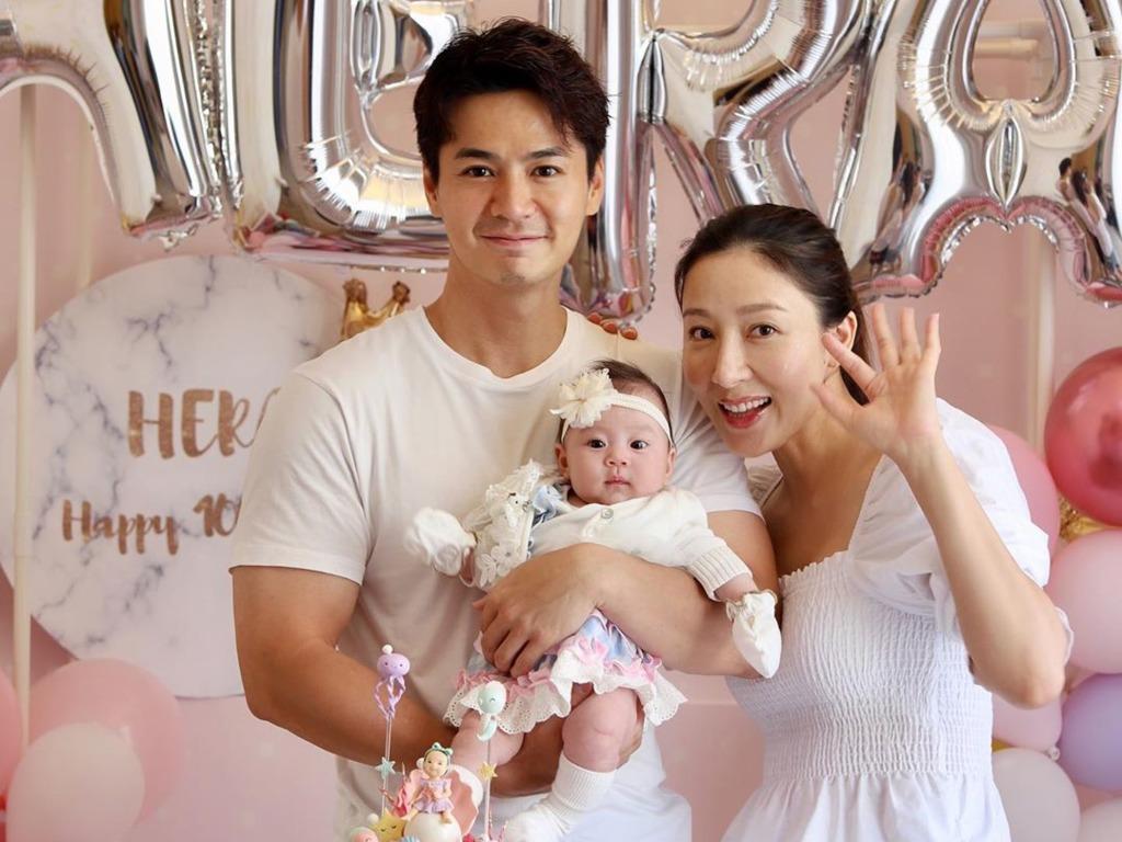 【絲婚快樂】羅仲謙和楊怡結婚四周年   貼互咀照曬恩愛