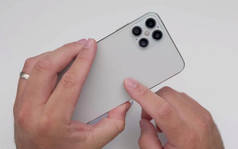 iPhone 12 Pro Max 原型機開箱,主攝四鏡頭+iPhone 5 邊框設計