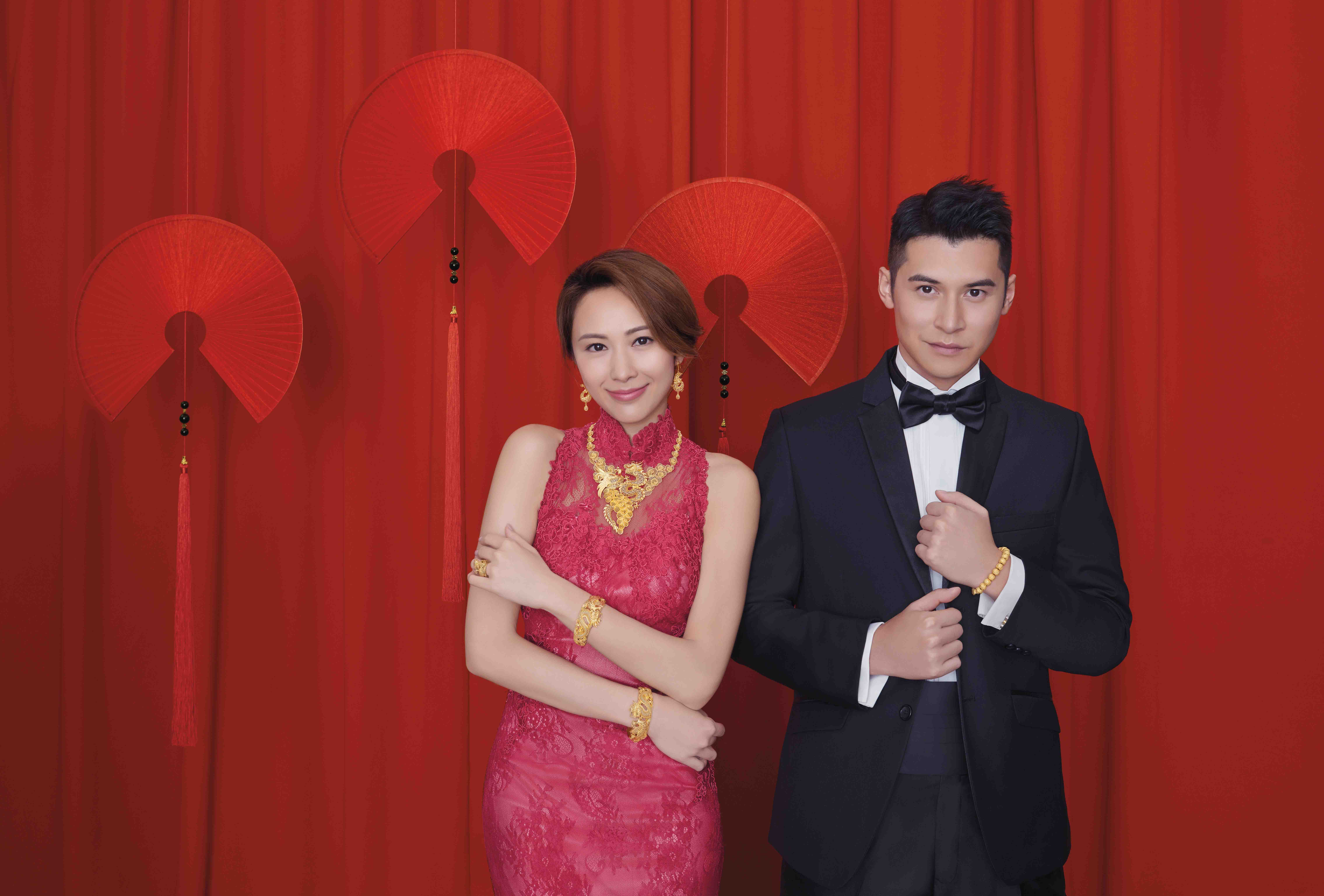 前度余香凝結婚 陳家樂與湯怡甜笑對望影「婚照」