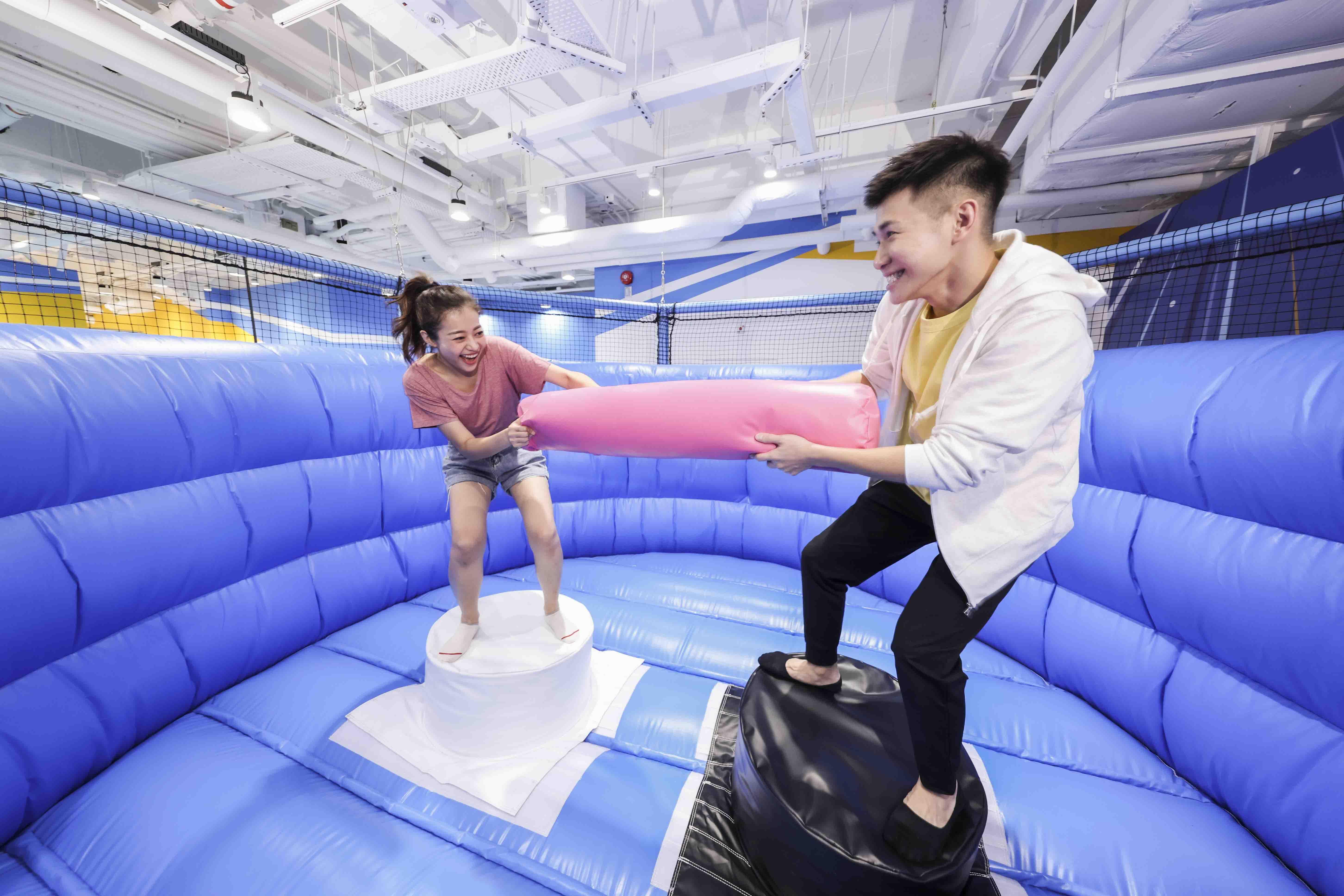 〈好玩〉爆發力大比拼!NAMCO日本特色運動遊樂競技場今開幕
