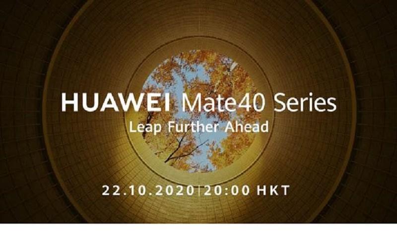 最強旗艦手機的誕生?HUAWEI Mate 40系列全球網上發佈會直播頻道!