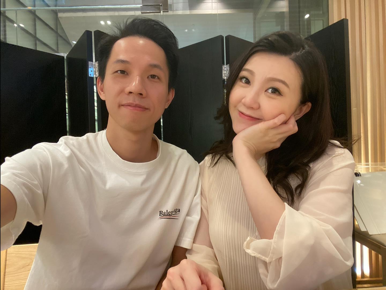 吳若希與老公何兆鴻
