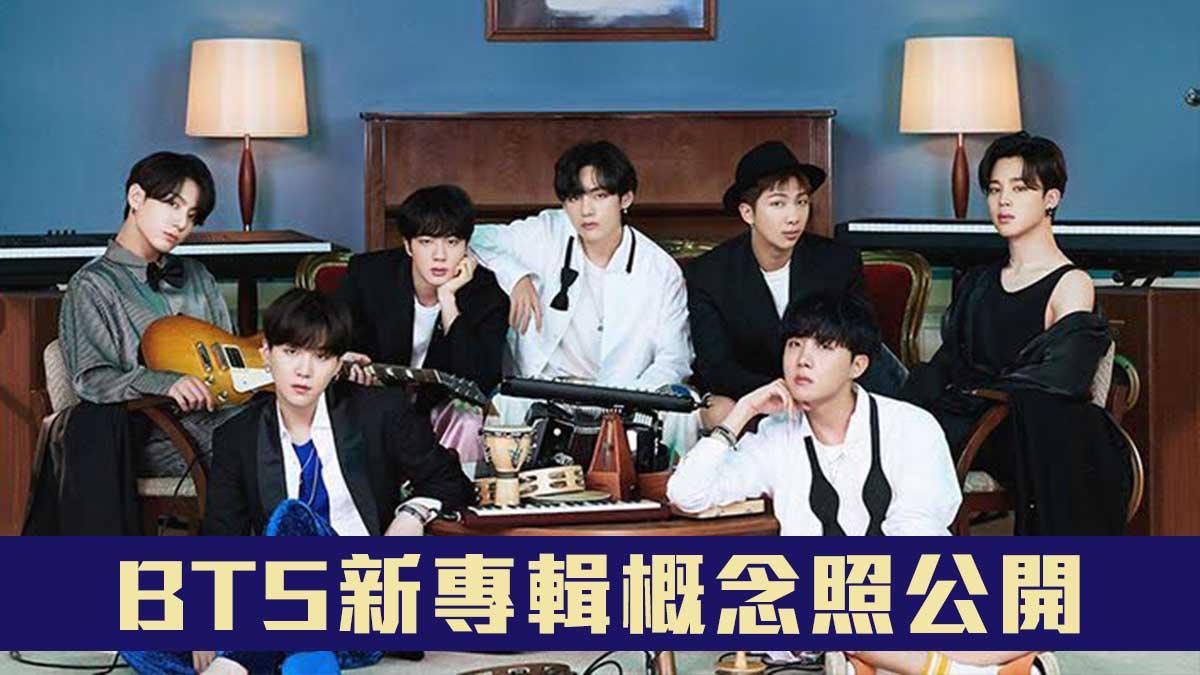 【期待】BTS新專輯概念照公開 柾國執導新歌MV?
