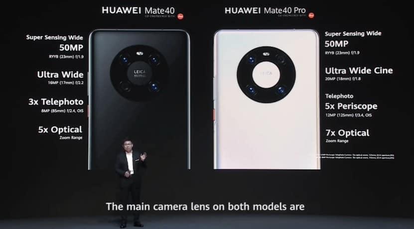 HUAWEI Mate 40 Pro 以136分勇奪 DxOMark 最高分手機位置!
