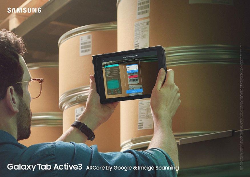 Samsung軍用級標準平板電腦Galaxy Tab Active3到港!