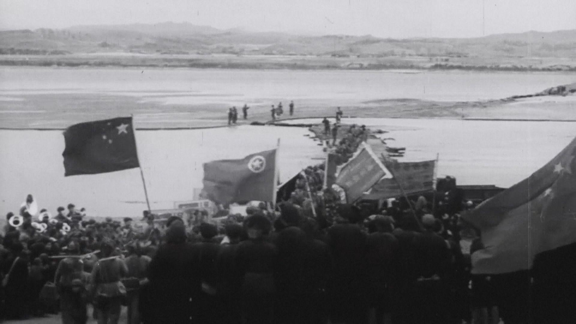 韓戰於1950年爆發 中國派志願軍支持北韓