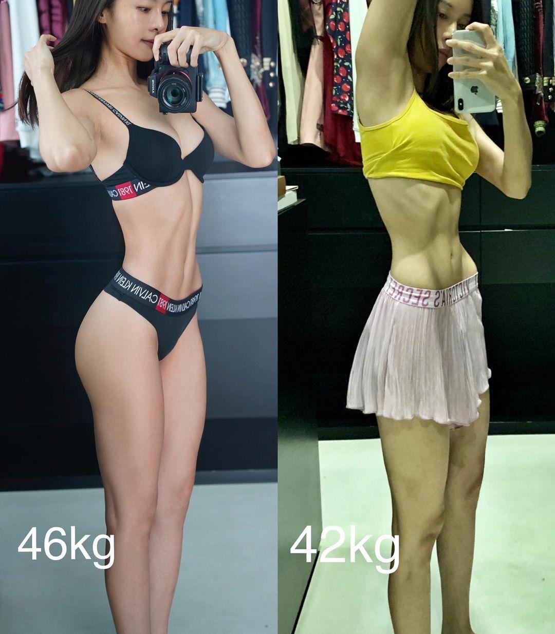 最近卻暴瘦4kg,變「皮包骨」