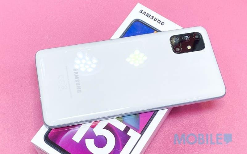 ▲歐版 6+128 配置 Galaxy M51 報價 $2,880
