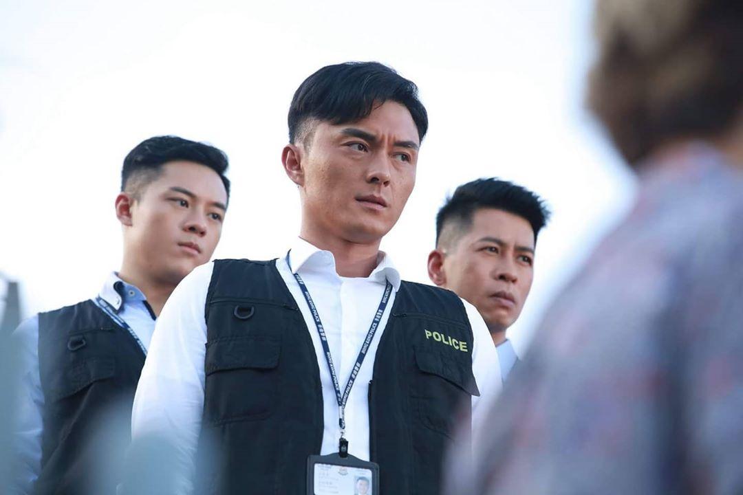 楊明早前於劇集飾演警察,亦曾為警隊拍攝宣傳片