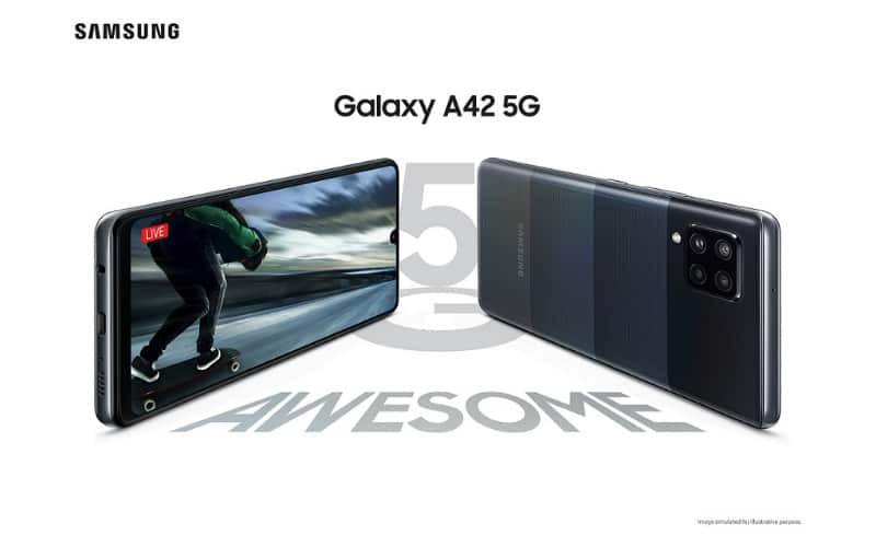 SAMSUNG 最平5G 手機,Galaxy A42 5G 開價$3,198!