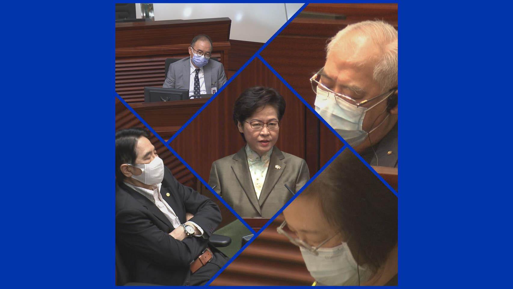 【政情網上行】官員及議員疲態盡現