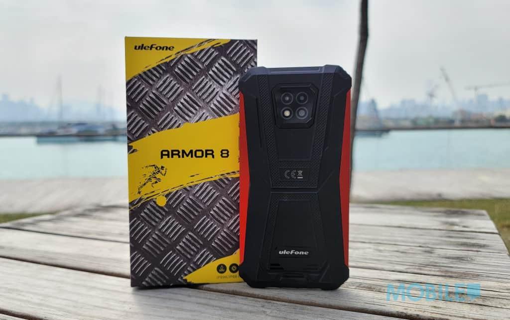 抵玩三防智能手機,UleFone Armor 8 上手試!