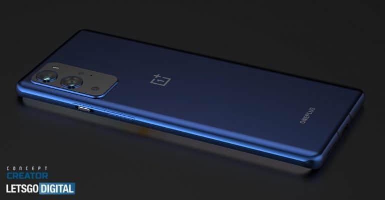 OnePlus 9 Pro 最新渲染圖曝光,後置四鏡頭+ 120 Hz 曲面屏