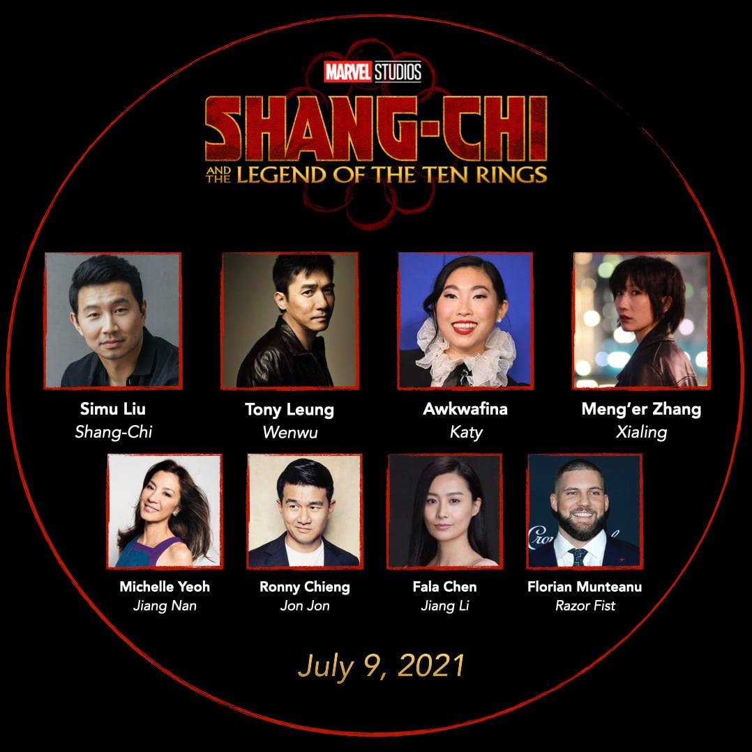 Marvel公布新電影劇集情報 陳法拉楊紫瓊參演《尚氣》 《神奇四俠》終回歸