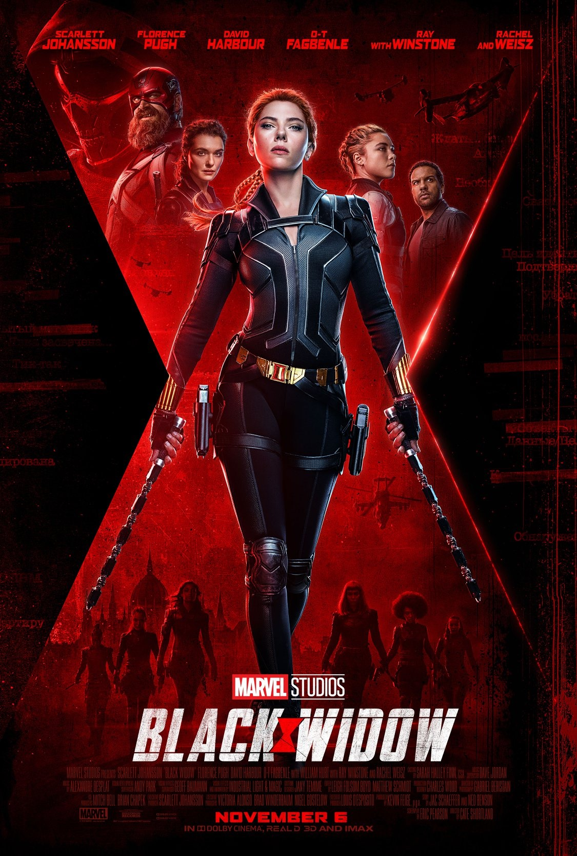 《黑寡婦》暫定明年5月上映