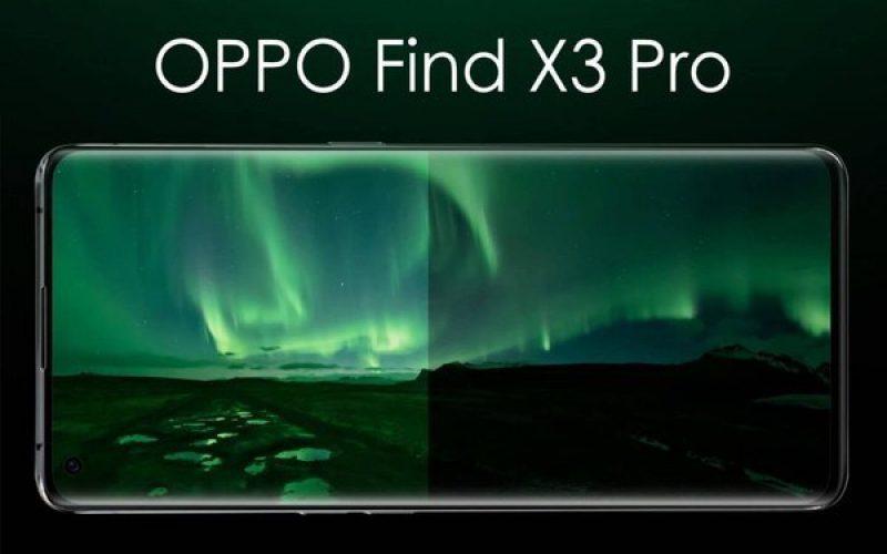或是首款搭載屏下鏡頭技術,OPPO Find X3規格再度曝光!
