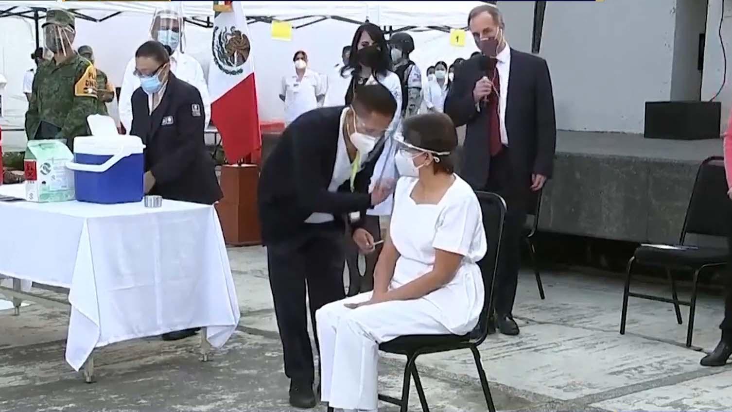 拉丁美洲多國陸續接種新冠病毒疫苗
