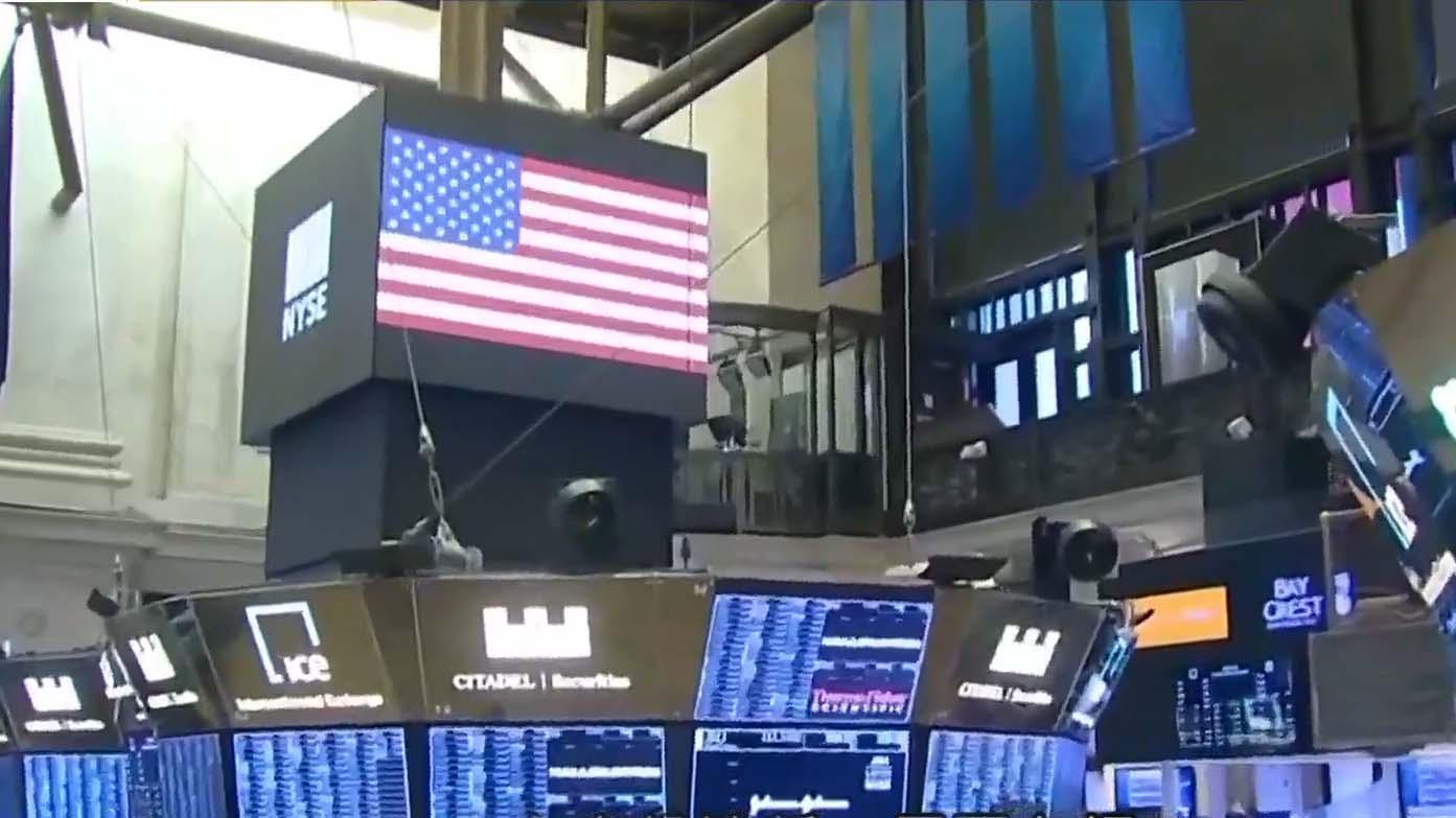 美股半日市高收 受惠英歐達成貿易協議