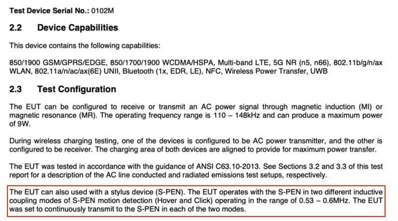 FCC 確認,Galaxy S21 支援 S Pen 筆控