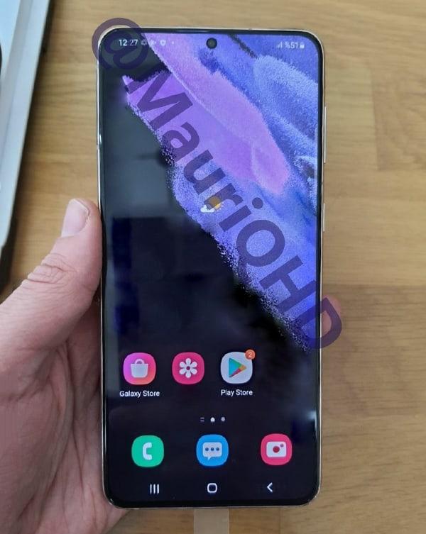 四邊螢幕都咁幼,Galaxy S21+ 實機相片曝光